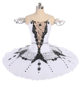BT00128 White Swan Ballet Tutu