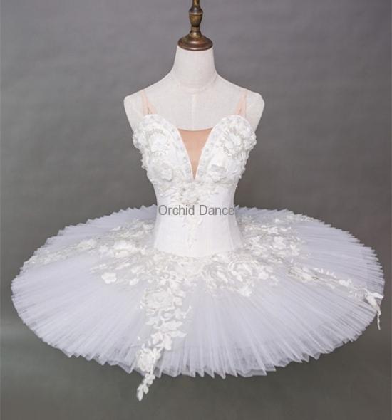 BT000010 White Swan Lake Ballet Tutu
