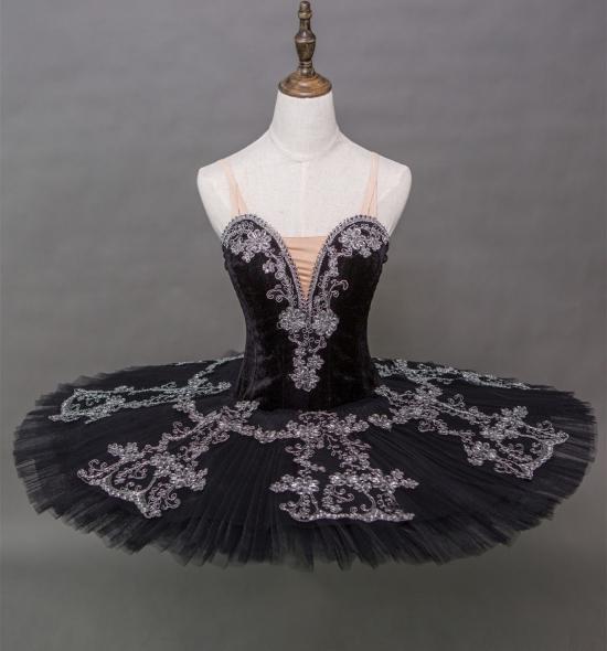 BT00013 Black Swan Lake Ballet Tutu