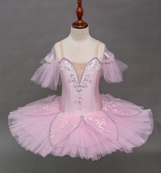 BT00024 Kids Pink Cheap Ballet Tutu