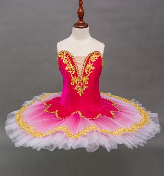 BT00022 Kids Red Cheap Ballet Tutu