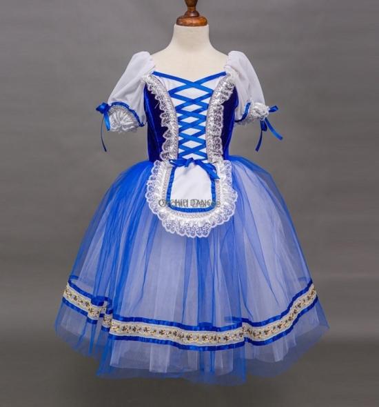 BT00029 Long Romantic Dance Performance Wear Ballet Tutu Dress