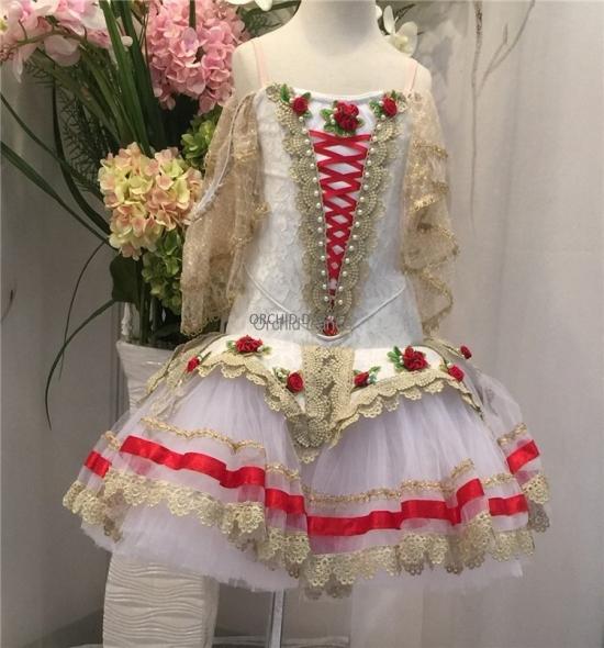 BT00036 Christmas Performance Wear Ballet Tutu Dress
