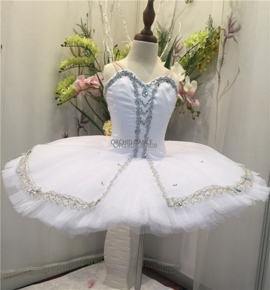 BT00040 white swan lake ballet tutu costumes