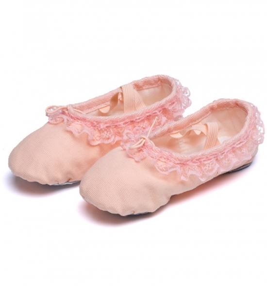 BS0012  Canvas Ballet Shoes for Kids
