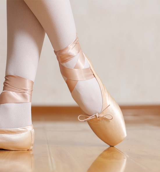 PS0001 Satin Pointe Shoes