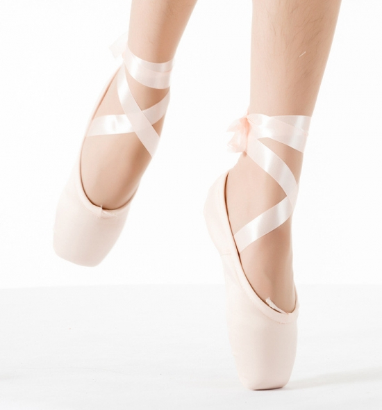 PS0002 Canvas Pointe Shoes