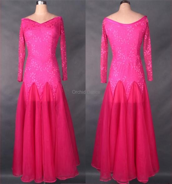 OD-M017 Ballroom Dance Dress