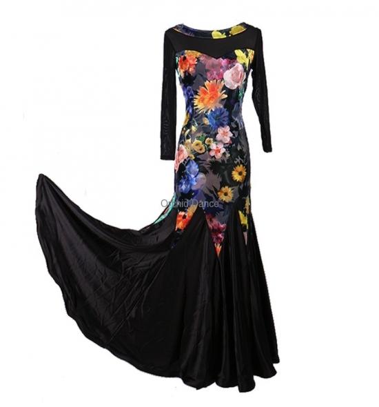 OD-M007 Ballroom Dance Dress
