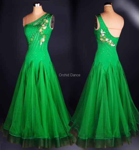 OD-M014 Ballroom Dance Dress