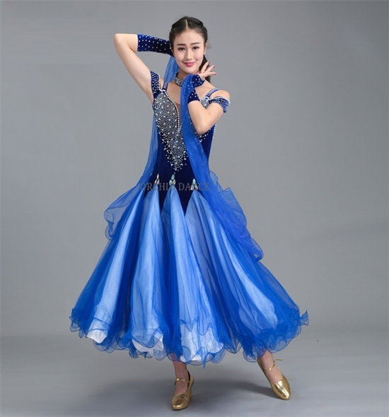 ODBD2016 Ballroom Dance Dress
