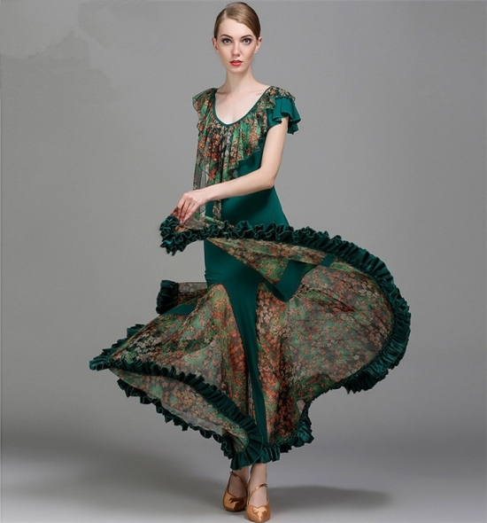 ODBD1079 Ballroom Dance Dress