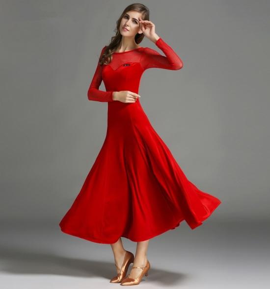 ODBD1080 Ballroom Dance Dress