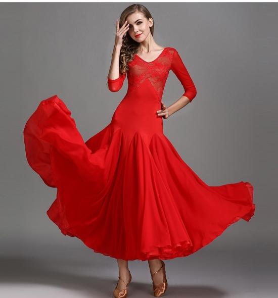 ODBD1076 Ballroom Dance Dress