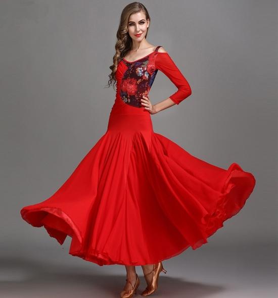 ODBD1074 Ballroom Dance Dress