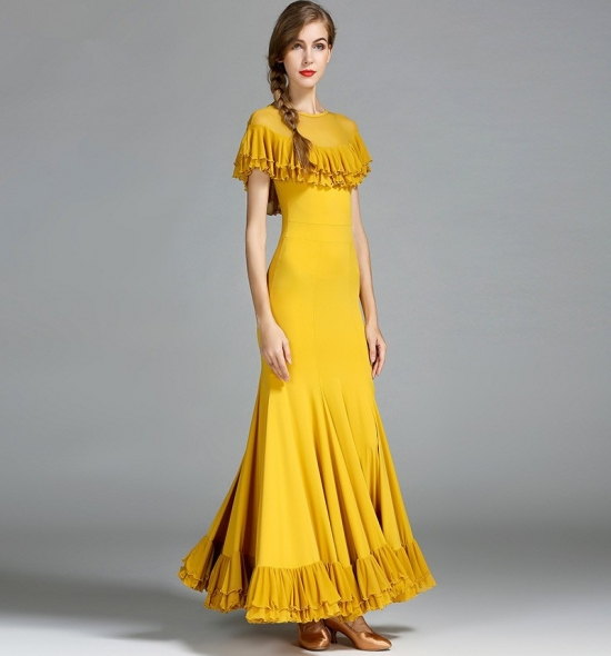 ODBD1069 Ballroom Dance Dress