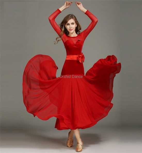 ODBD1063 Ballroom Dance Dress