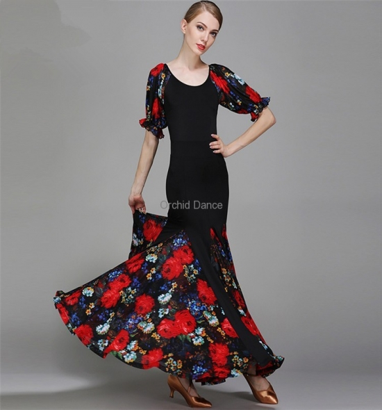 ODBD1059  Ballroom Dance Dress
