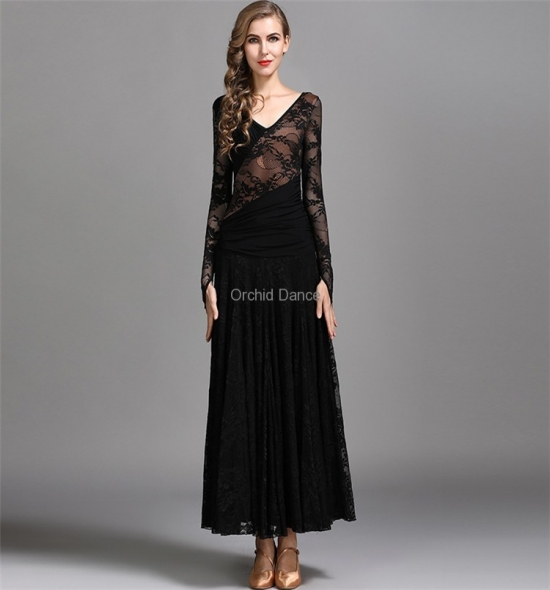 ODBD1057  Ballroom Dance Dress