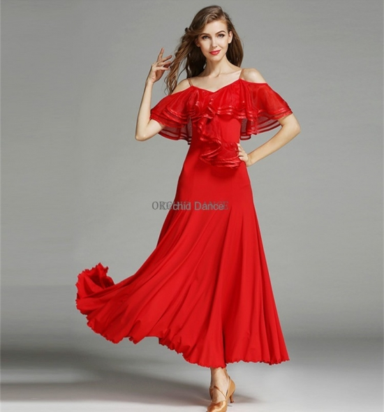ODBD1054   Ballroom Dance Dress