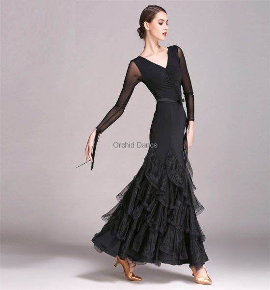 ODBD1055 Ballroom Dance Dress