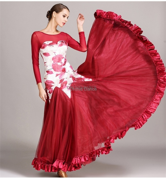 ODBD1052 Ballroom Dance Dress