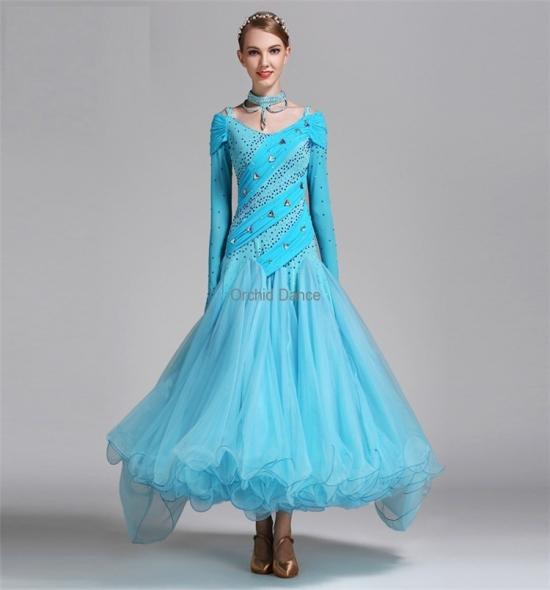 ODBD1049   Ballroom Dance Dress