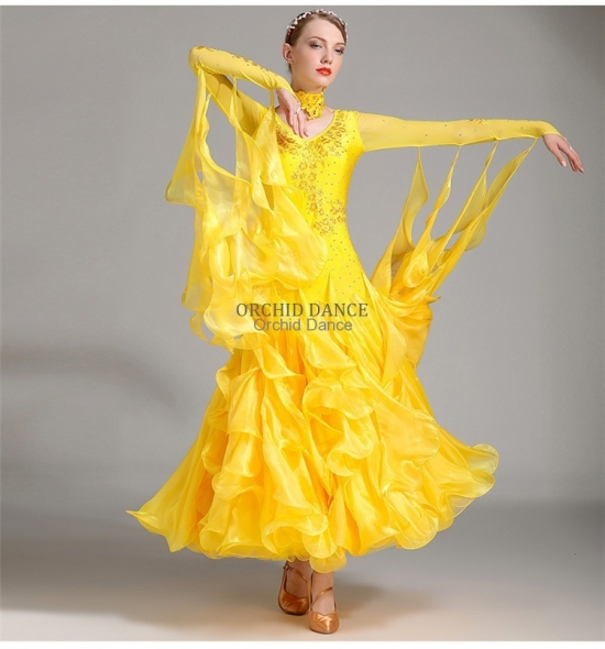 ODBD1035   Ballroom Dance Dress