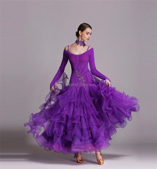 ODBD1029    Ballroom Dance Dress