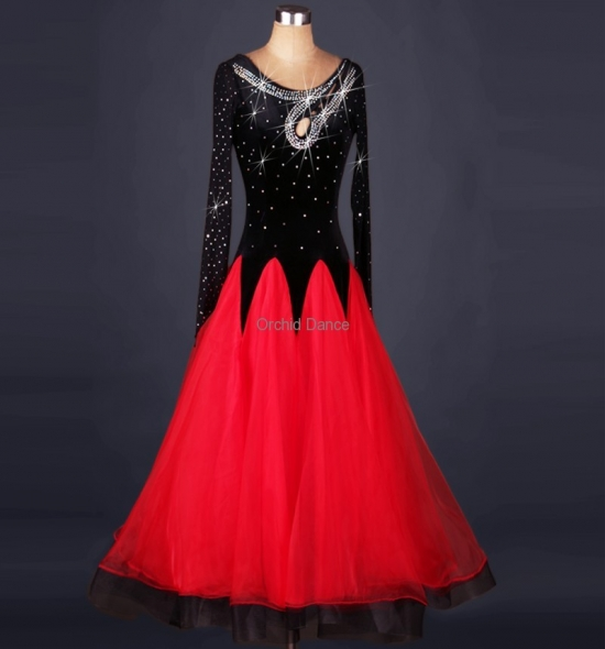 OD-MQ011  Ballroom Dance Dress