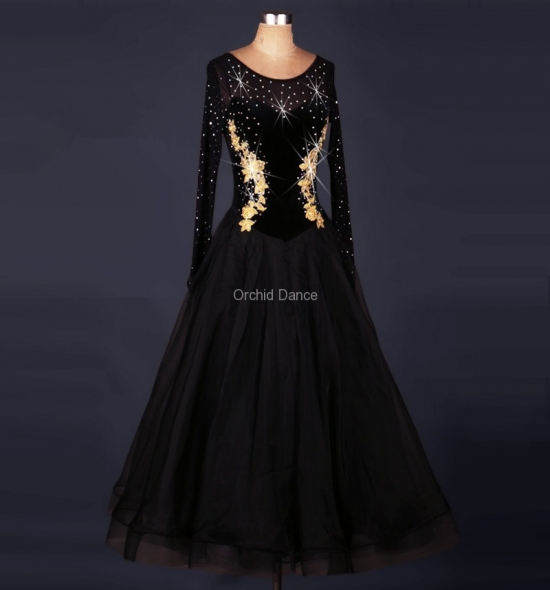OD-MQ009 Ballroom Dance Dress
