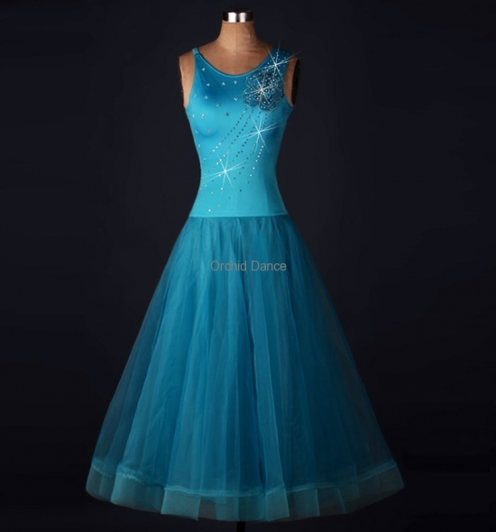 OD-MQ006  Ballroom Dance Dress