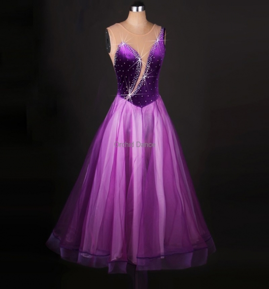 OD-M059  Ballroom Dance Dress