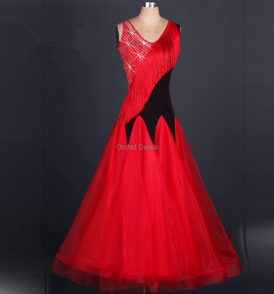 OD-M056  Ballroom Dance Dress