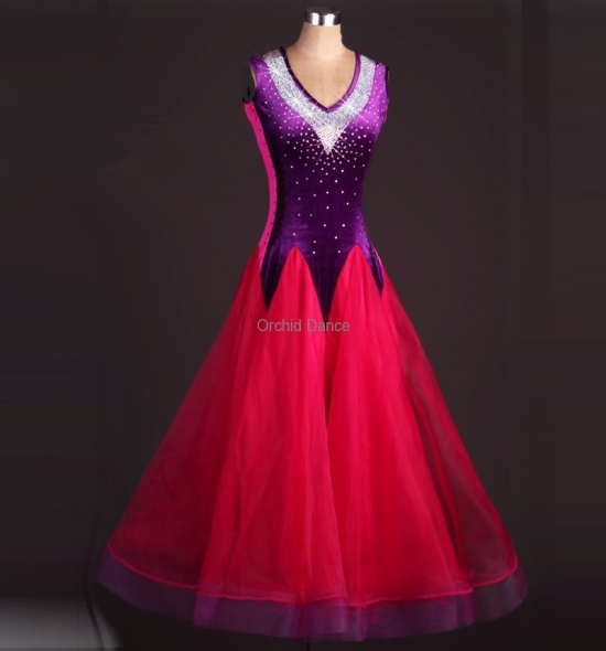 OD-M055  Ballroom Dance Dress