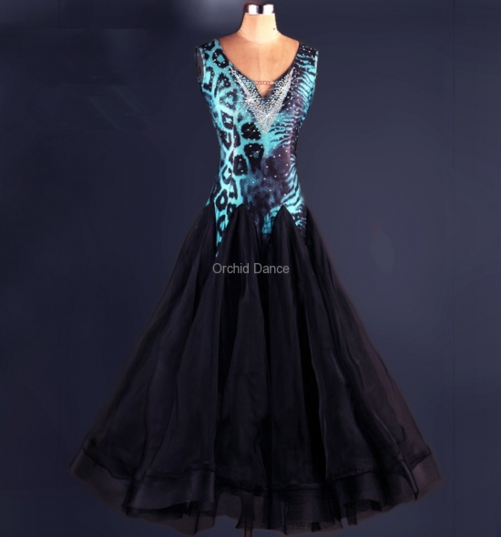 OD-M049 Ballroom Dance Dress