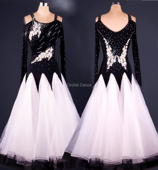 OD-M047  Ballroom Dance Dress