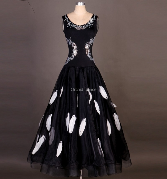 OD-M043 Ballroom Dance Dress