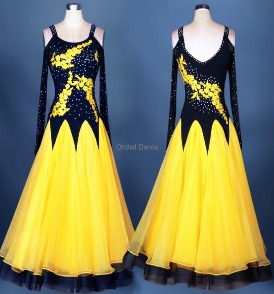 OD-M038  Ballroom Dance Dress
