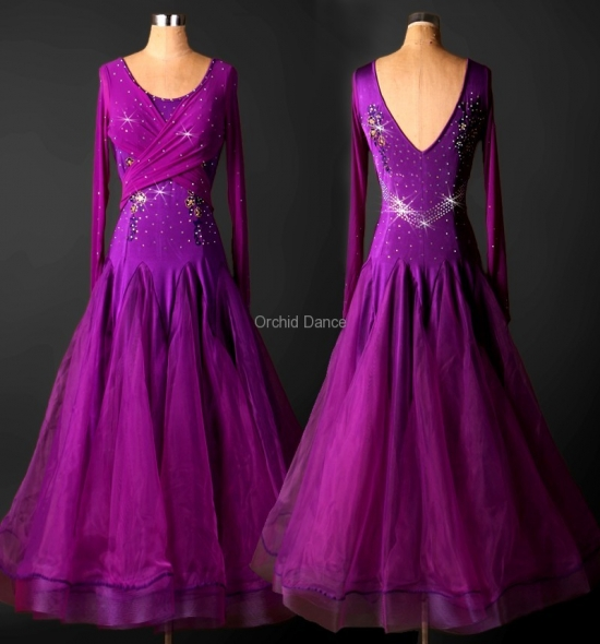 OD-M040 Ballroom Dance Dress