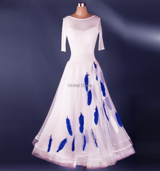OD-M039  Ballroom Dance Dress