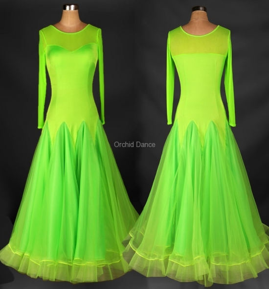 OD-M033 Ballroom Dance Dress