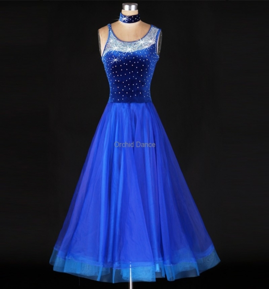OD-M023 Ballroom Dance Dress