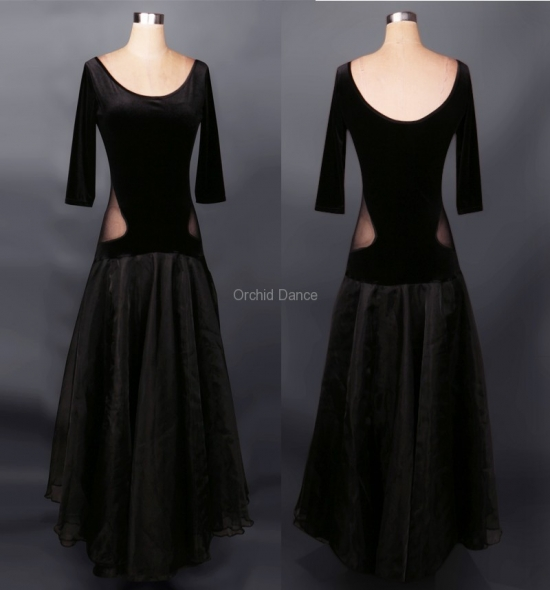 OD-M027 Ballroom Dance Dress