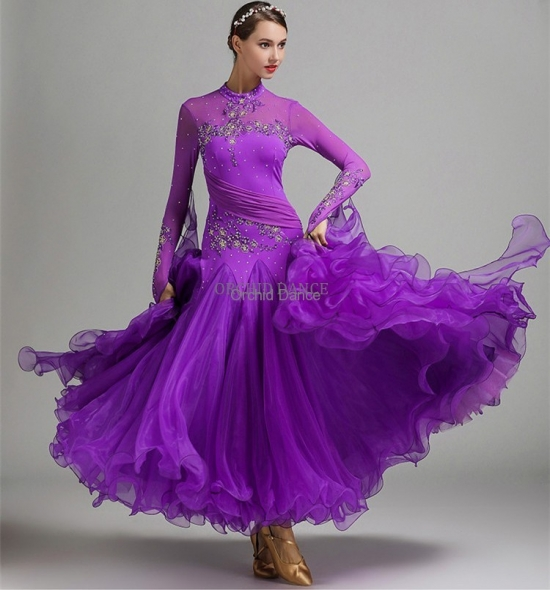 ODBD1022 Ballroom Dance Dress