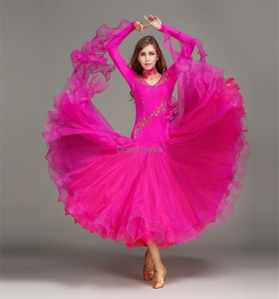 ODBD1013  Ballroom Dance Dress