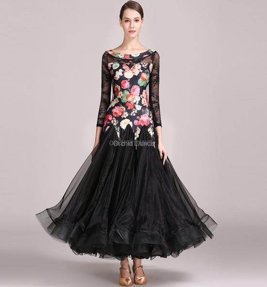 ODBD1064   Ballroom Dance Dress