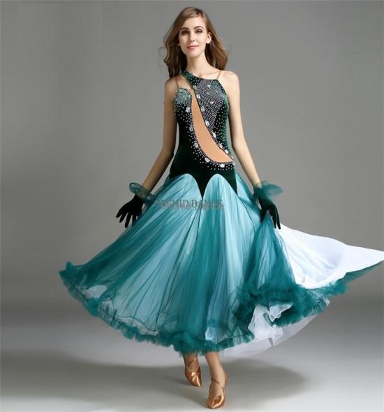 ODBD1120   Ballroom Dance Dress
