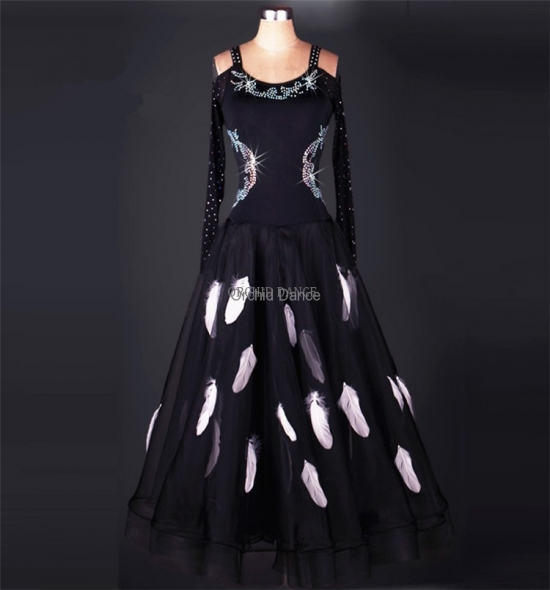 OD-M046 Ballroom Dance Dress