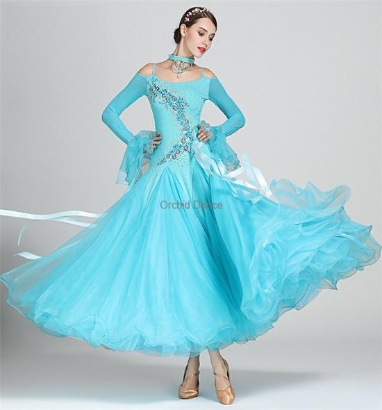 ODBD1091  Ballroom Dance Dress